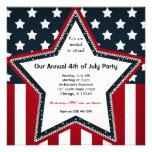 4o julho convites personalizados
