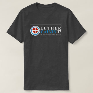 500th Camisa de Luther Calvin da reforma do
