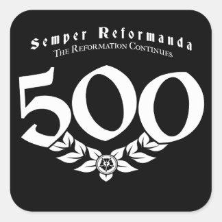500th Etiquetas da reforma do aniversário - 6