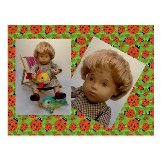 501 Sasha bebé Sandy Dress cartão postal