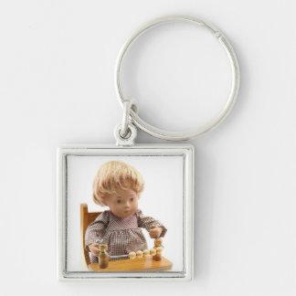 501 Sasha bebé Sandy loura porta-chaves