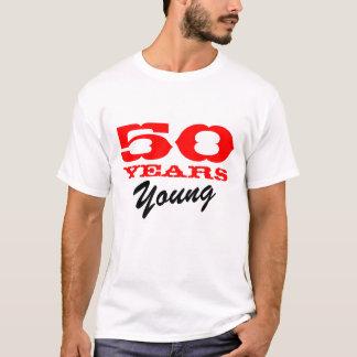 50 anos de camiseta nova para o 50th aniversário