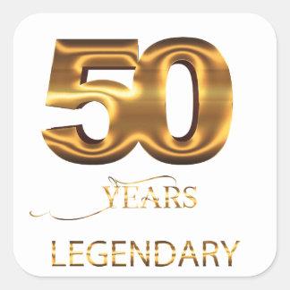 50 anos de etiqueta legendária