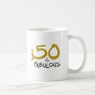 50 e caneca quente fabulosa da bebida