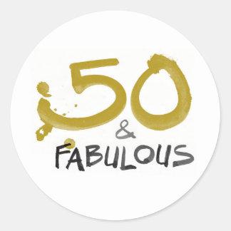 50 e etiquetas fabulosas