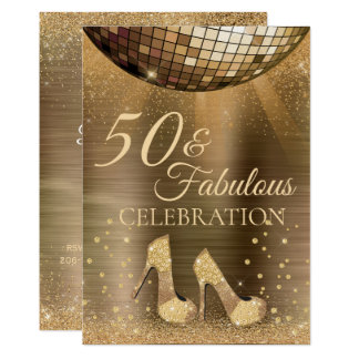 50 na moda & convite fabuloso do chocolate