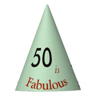 50 são cinza-verdes pastel do chapéu de papel