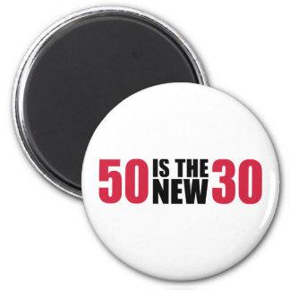 50 são o aniversário 30 novo imã de refrigerador