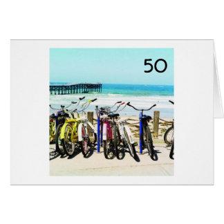 50=WHAT Uma GRANDE DESCULPA PARA TER ALGUM Cartão Comemorativo
