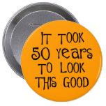 50th aniversário, 50 anos para olhar isto bom! pins