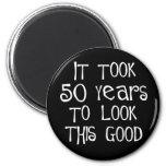 50th aniversário, 50 anos para olhar isto bom! imãs
