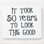50th aniversário, 50 anos para olhar isto bom! mousepads