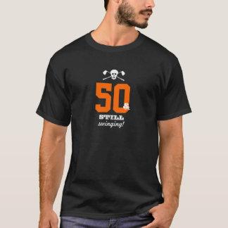 50th aniversário - ainda balançando - crânio do camiseta
