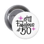 50th Aniversário Botons