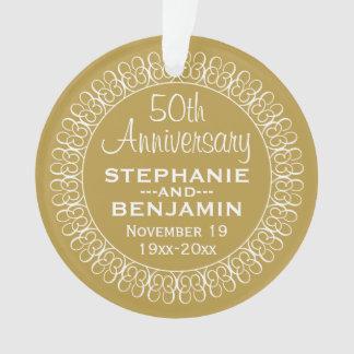 50th Aniversário de casamento personalizado