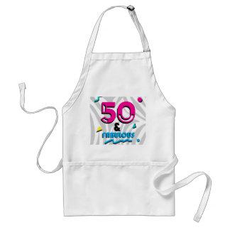 50th avental fabuloso da festa de aniversário