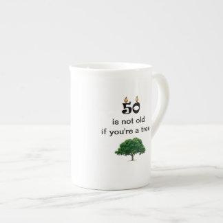 50th café do aniversário ou caneca engraçada do