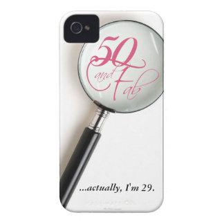 50th capa de iphone 4 engraçado do aniversário