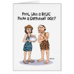 50th cartão de aniversário engraçado para homens