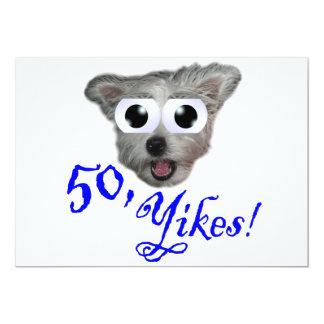 50th Convites de festas de aniversários