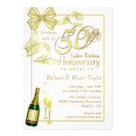 50th festa de aniversário - convites do negócio