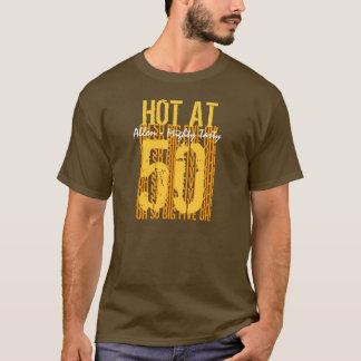 50th Ideia do presente de aniversário quente em um Camiseta