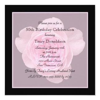 50th O convite de aniversário aumentou para o 50th