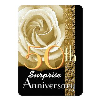 50th O convite do aniversário da SURPRESA aumentou