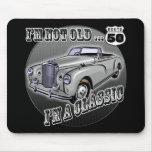 50th Presentes de aniversário Mouse Pad