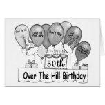 50th Sobre o aniversário das colinas Cartão