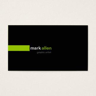 519b moderno feito sob encomenda cartão de visitas