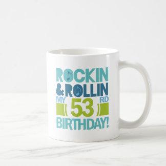53rd Ideias do presente de aniversário Caneca De Café