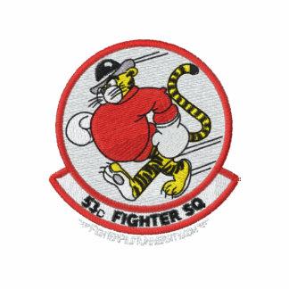 53rd Polo W/F-15 de TFS e Callsign (polo escuro)