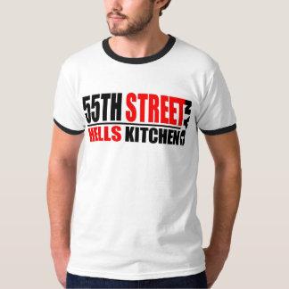 55th Camisa do logotipo da cozinha NYC do inferno  Camiseta