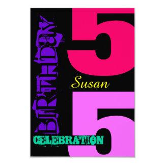55th Convite do costume do POP da celebração do