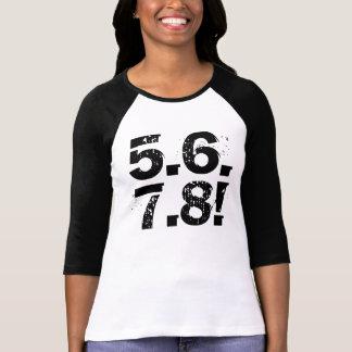 5678! camisa da dança