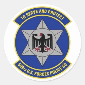 569th Decalque de USFPS Adesivo