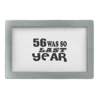 56 era assim tão no ano passado o design do