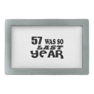 57 era assim tão no ano passado o design do
