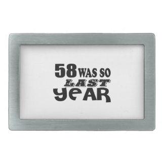 58 era assim tão no ano passado o design do