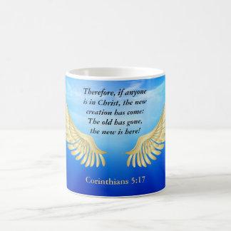 5:17 dos Corinthians Caneca De Café