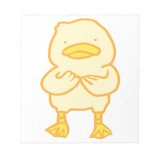 """5,5"""" Ducky x 6"""" bloco de notas"""