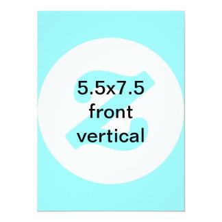 5.5x7.5 verticais e horizontais convidam convite 13.97 x 19.05cm
