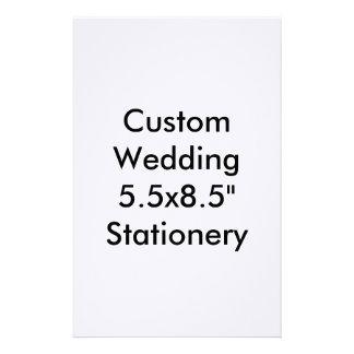 """5.5x8.5 Wedding feito sob encomenda"""" artigos de Papeis Personalizados"""