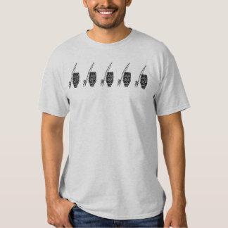 5 atabaques camisetas
