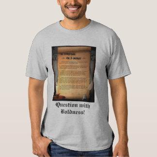 5 garantias para o congresso! Pergunta com arrojo! Tshirts