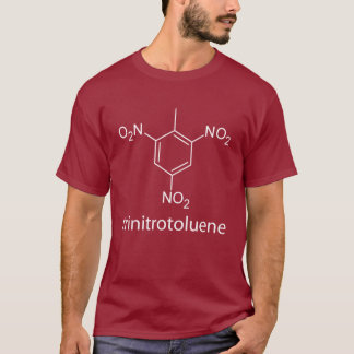 5. TNT é dinamite!  também, trinitrotoluene. Camiseta