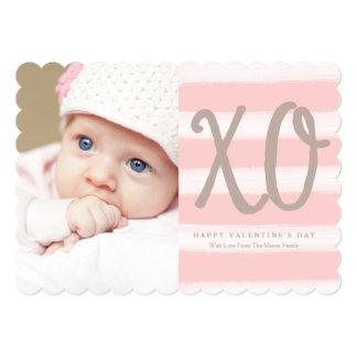 5 x 7 cartão com fotos do dia dos namorados das convite 12.7 x 17.78cm