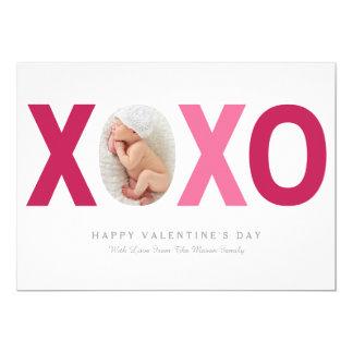 5 x 7 cartão com fotos do dia dos namorados de convite 12.7 x 17.78cm