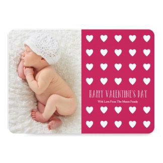 5 x 7 cartão com fotos do dia dos namorados dos convite 12.7 x 17.78cm